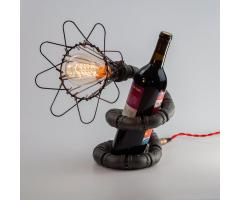 Настольная лампа - держатель винной бутылки